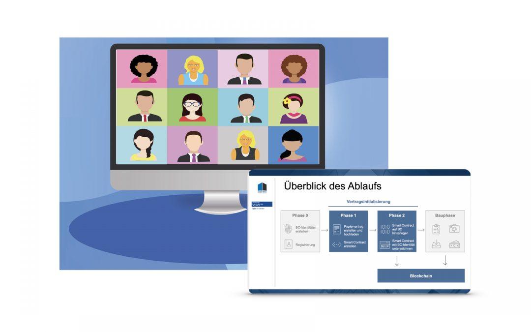 Online-Veranstaltung: BIMcontracts-Konsortium präsentiert Entwicklungsstand per Zoom