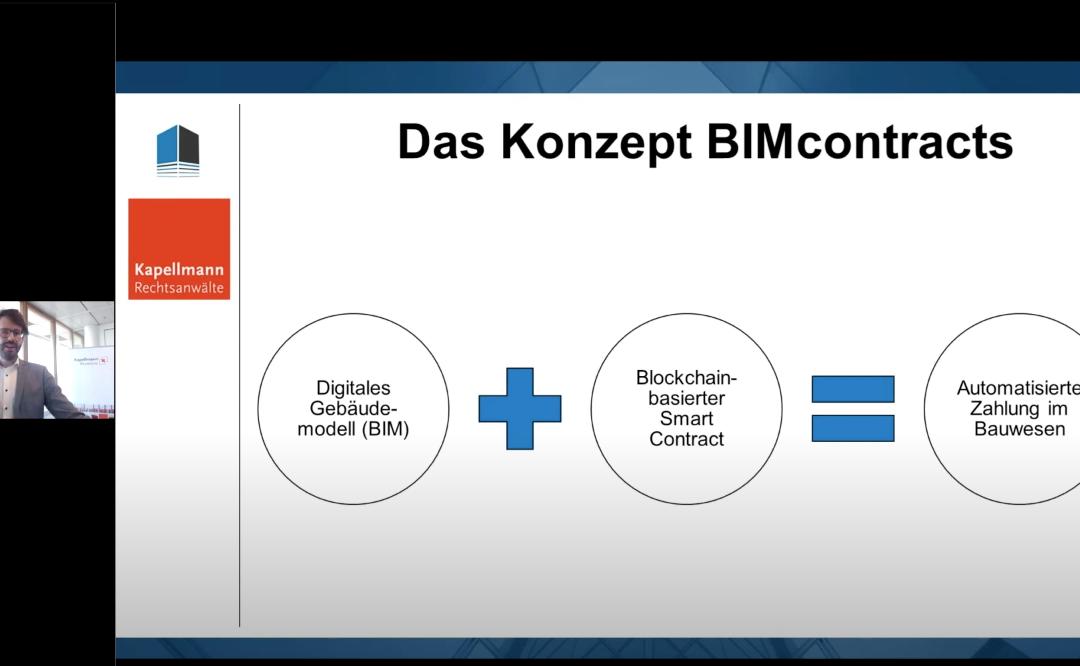 Dominik Groß hält Vortrag zur rechtssicheren Einbettung von Algorithmen in Vertragsabläufe